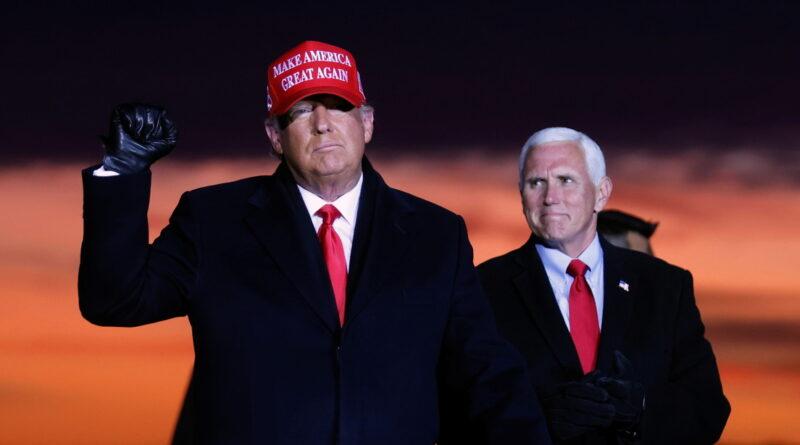 """Trump: """"Estamos a lo grande, pero están tratando de robar las elecciones. Nunca les dejaremos hacerlo"""""""