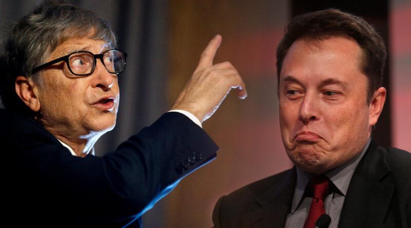 """ATENCION:""""Todo el mundo muere"""": Musk arremete contra Bill Gates y asegura que ni él ni su familia se vacunarán contra el coronavirus"""
