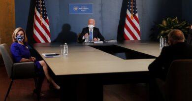 Biden se reunió con los líderes demócratas del Congreso para planificar los primeros cien días de su gobierno