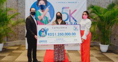Catalonia Hotels dona 1.2 millones de pesos para combatir el cáncer infantil en RD