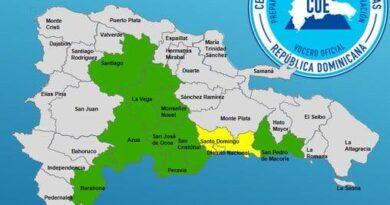 COE mantiene 10 provincias en alerta ante posibles inundaciones; lluvias continuarán