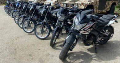 Recuperan unas 15 motores robados que eran llevadas hacia Haití