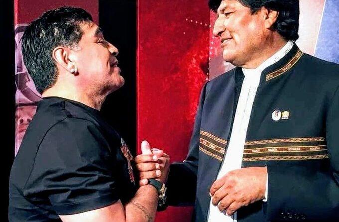 """Actualidad """"Gran amigo de las causas justas"""": Evo Morales lamenta el fallecimiento de Maradona"""