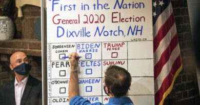 Joe Biden obtiene los 5 votos en Dixville Notch y Trump vence en Millsfield: Las primeras localidades en abrir sus urnas en EE.UU