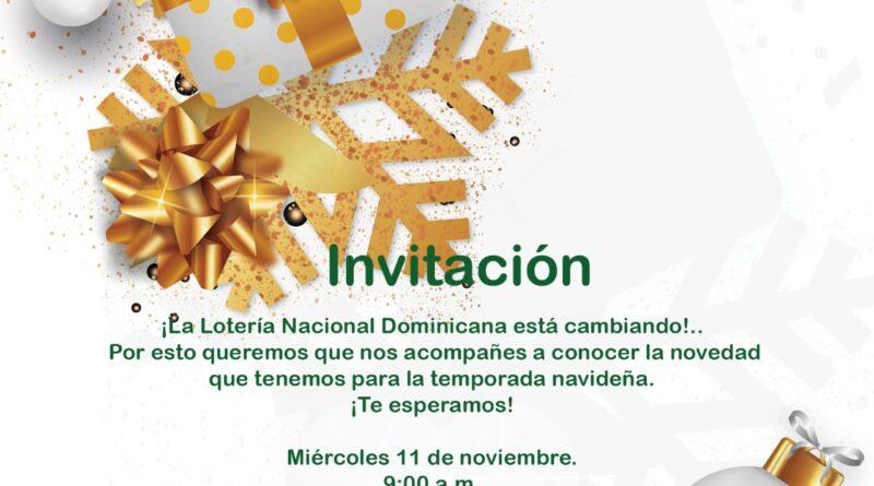 Lotería Nacional informa: próximos sorteos de este lunes 9 de noviembre será en horarios habituales