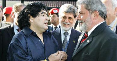 """Lula da Silva: """"Maradona fue un gigante del fútbol, de Argentina y de todo el mundo"""""""