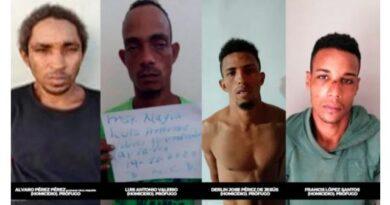 Policía sigue búsqueda de seis se fugaron de destacamento en Nagua