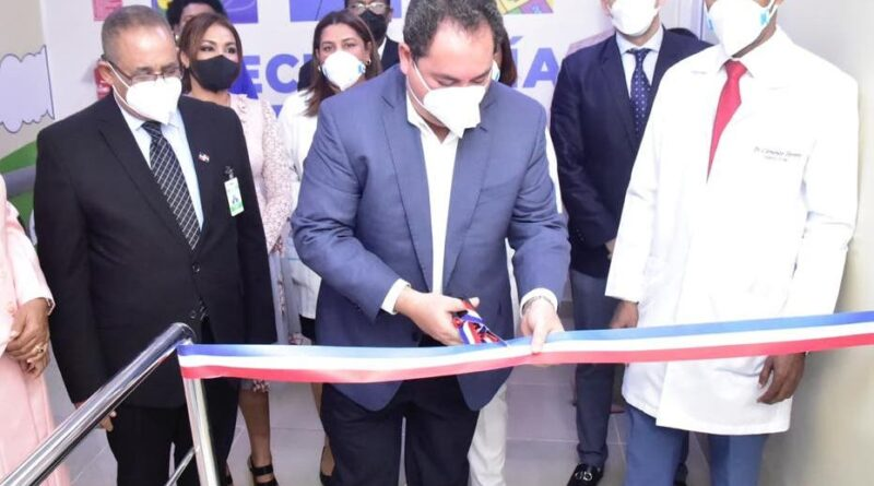 El SNS abre un área covid-19 en hospital Robert Reid Cabral