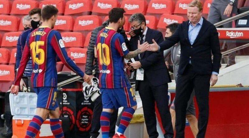 """Ronald Koeman sobre Messi: """"Su actitud es muy buena, no entro en polémicas"""""""