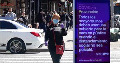 Barrio dominicano de Nueva York con la tasa más alta de positivos COVID - 19 revela el Departamento de Salud