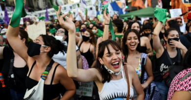 El Senado de Argentina legaliza #ElAborto