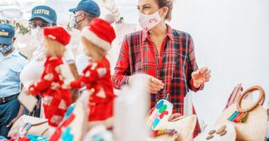 ADN respalda artesanos y vendedores locales con mercadillo de navidad