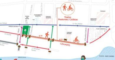 Alcaldía de Boca Chica y autoridades implementarán Plan Piloto para el mejoramiento del tránsito en la zona turística.