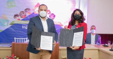 CONANI firma convenio interinstitucional con la Alcaldía Municipal de Jarabacoa