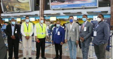 Departamento Aeroportuario supervisa cumplimiento protocolo por Covid-19 en el AILA