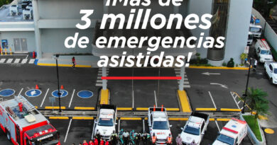 El Sistema 9-1-1 alcanza tres millones de emergencias atendidas en sus seis años de operaciones