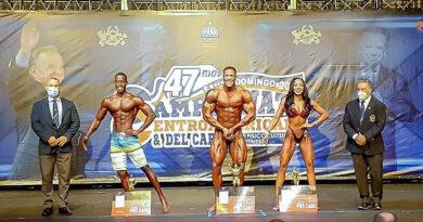 RD gana 47th campeonato Centroamericano y del Caribe de fisicoculturismo y fitness, dominicano Toribio mejor absoluto