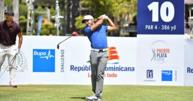 Este lunes inicia el Puerto Plata Open PGA Tour Latinoamérica de Golf