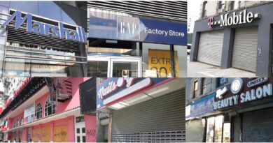 Cientos de negocios de corporaciones y locales cerraron en 2020 en el Alto Manhattan por estragos de coronavirus