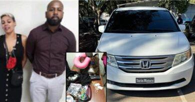 Apresan dos implicados en robo al pelotero Teuri Olivares; recuperan parte de artículos robados