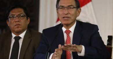 El ente electoral de Perú excluyó la candidatura de Vizcarra al Congreso