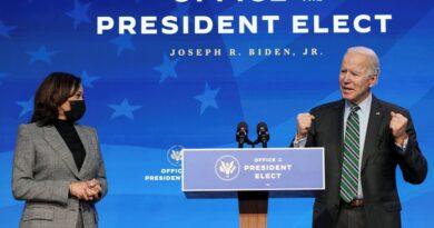 Kamala Harris jurará como vicepresidente frente a la jueza del Tribunal Supremo Sonia Sotomayor