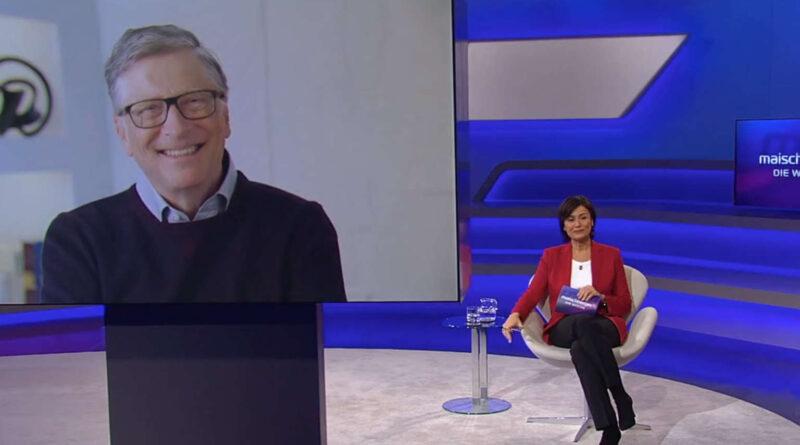 Bill Gates en Maischberger (ARD): Las pandemias son más peligrosas que las armas nucleares; él ya lo sabía