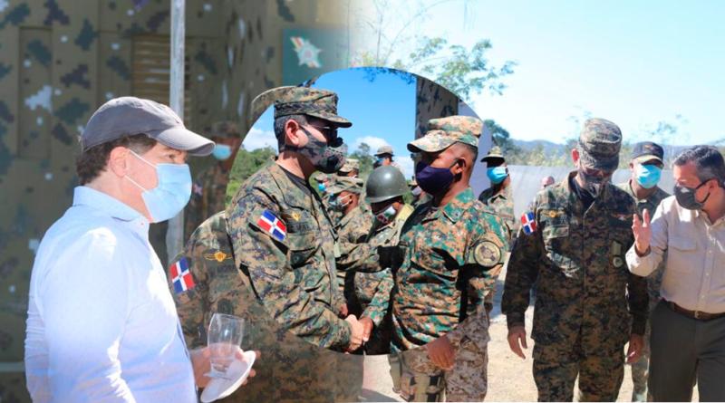 Aumentan vigilancia en la frontera por crisis en Haití; ministros chequean puestos militares
