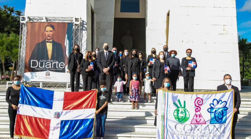 CONANI rinde tributo a la memoria de los Padres de la Patria