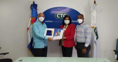 Centros Tecnológicos Comunitarios y la Asociación Dominicana de Rehabilitación renuevan lazos interinstitucionales