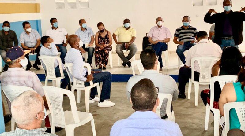 Dirigentes del PRM de Santo Domingo Norte valoran como positiva gestión de presidente Luis Abinader