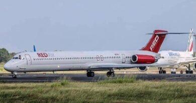 Nueva aerolínea dominicana 'Red Air' realiza vuelos de prueba a Panamá