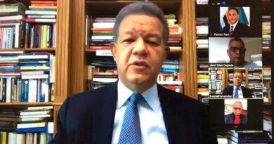 Leonel encabeza votaciones virtuales en plenaria del Congreso del Pueblo Profesor Juan Bosch