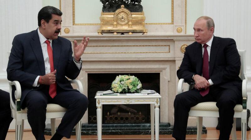 Putin expresa su apoyo a Maduro por los intentos de su Gobierno de reforzar la soberanía de Venezuela