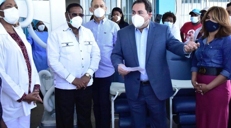 SNS entrega hospital en Boca Chica para atención a COVID-19