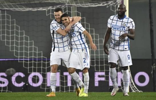 El Inter lidera la Serie A tras imponerse a Fiorentina