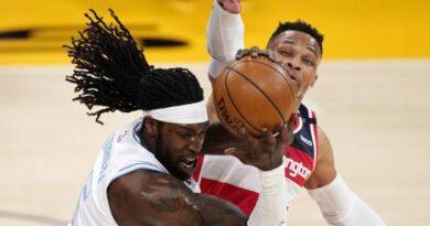 Wizards hilan 5to triunfo al superar a Lakers en la prórroga