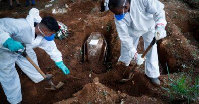 Nuevo récord de muertes por COVID-19 en Brasil: 3.780 en las últimas 24 horas