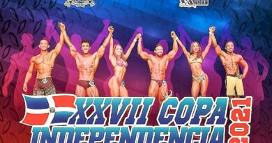 30 categorías en 10 divisiones en XXVII copa Independencia de fisiculturismo y fitness del domingo
