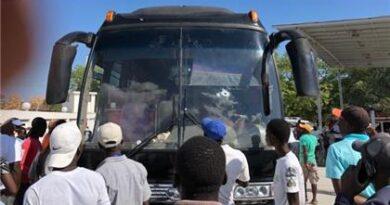 Dominicanos heridos durante intento secuestro de autobús de RD en Haití