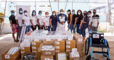 Gabinete Social y Fundación El Buen Samaritano gestionan ayudas en San Pedro de Macorís, La Romana y la Isla Saona