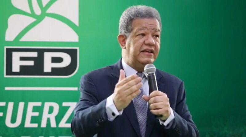 Leonel afirma Fuerza del Pueblo surgió contra el abuso y la injusticia