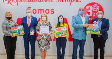 Mapfre BHD entrega premios a corredores de seguros