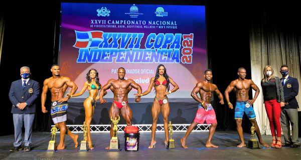 Estelares ganan en Copa Independencia de Fisiculturismo y Fitness