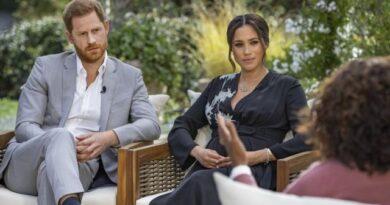 Fuertes declaraciones de Meghan y Harry durante entrevista con Oprah