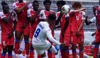Selección Haití fue goleada al jugar 22 minutos sin portero y con 10 por pruebas de Covid-19
