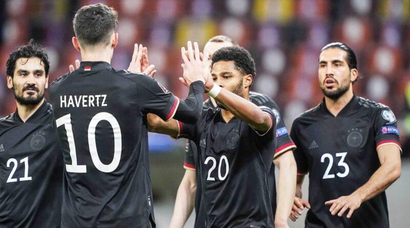 Clasificación para la Copa del Mundo: vea a Alemania contra Macedonia del Norte