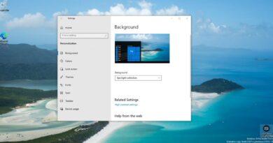 Microsoft prepara la función para cambiar el fondo de pantalla en Windows 10 más deseada
