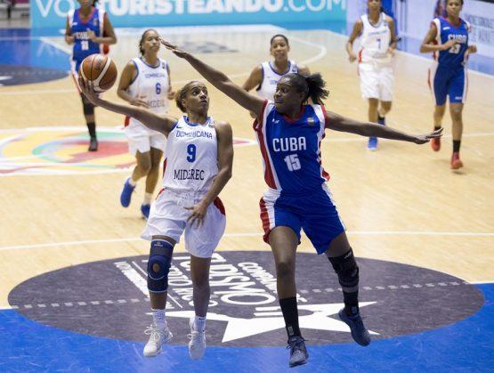 RD enfrenta Cuba en inicio Centrobasket Femenino 2021