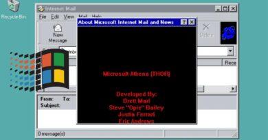 Descubren un 'easter egg' en Windows 95 tras 25 años escondido
